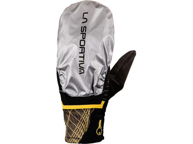 La Sportiva Trail - Gants course à pied Homme - jaune noir sur CAMPZ ! 8d59a45215d